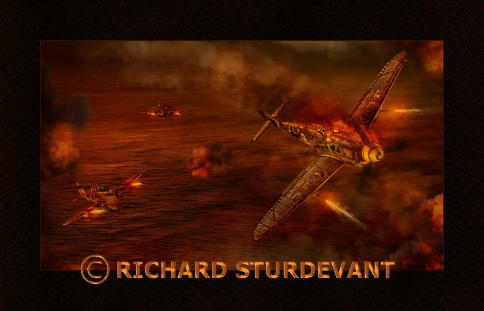 Fire in the Sky by Richard Sturdevant